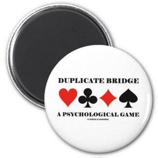 Duplicate Bridge A Psychological Game Magnet