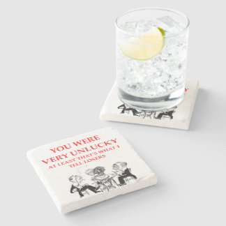 duplicate bridge stone coaster