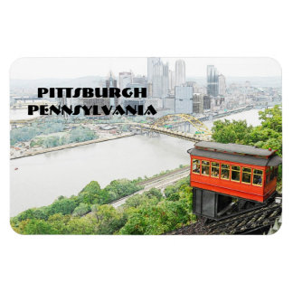 Duquesne Incline in Pittsburgh Pennsylvania Magnet