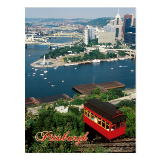 Duquesne Incline, Pittsburgh, Pennsylvania Postcard