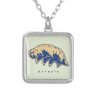 Durable - Tardigrade Silver Plated Necklace