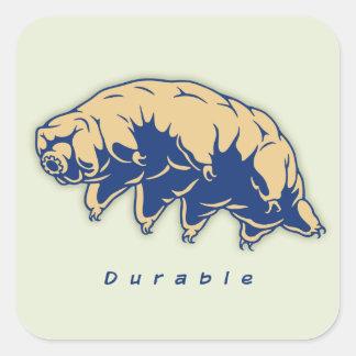 Durable - Tardigrade Square Sticker