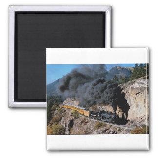 Durango and Silverton Railroad, No. 481, Bear Cree Magnet