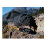 Durango and Silverton Railroad, No. 481, Bear Cree Postcard