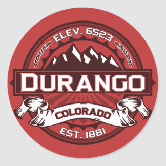 Durango Color Logo Sticker