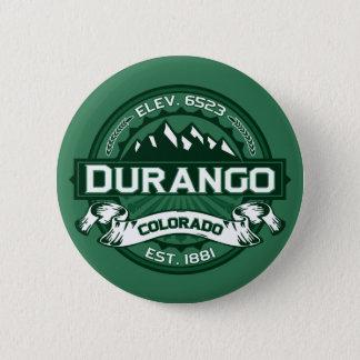 """Durango """"Colorado Green"""" Logo 2 Inch Round Button"""