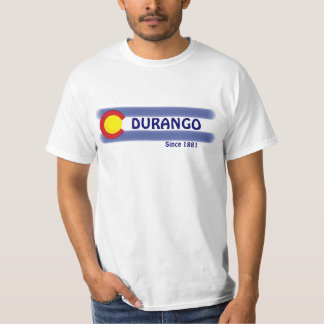 Durango Colorado local flag value tee