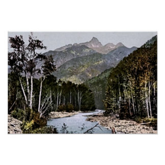Durango, Colorado Needle Mountains Landscape Poster