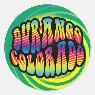Durango Hippy Trippy Sticker