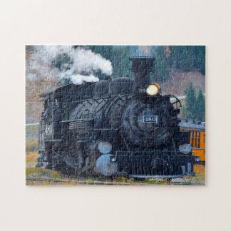 Durango Locomotive Colorado. Jigsaw Puzzle