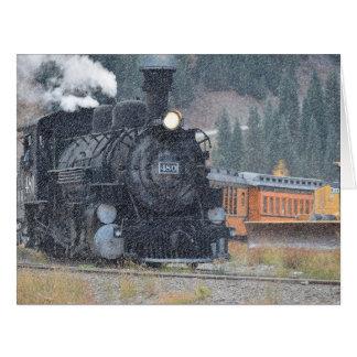 Durango Silverton Narrow Gauge Train Card