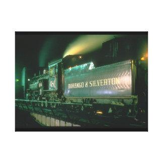 Durango & Silverton No_Steam Trains Canvas Print