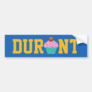 Durant - Cupcake Bumper Sticker