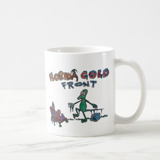 Durante and Friends in Florida Cold Front Classic White Coffee Mug