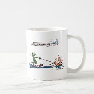 Durante Water Skiing Ft. Lauderdale Florida Classic White Coffee Mug