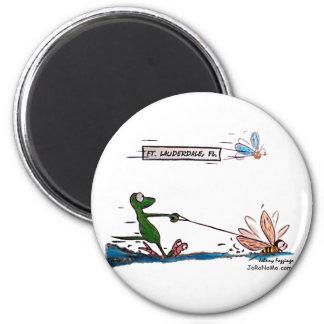 Durante Water Skiing Ft. Lauderdale Florida Magnet