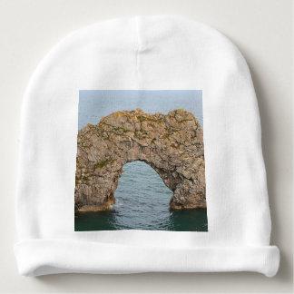 Durdle Door Arch, Dorset, England 2 Baby Beanie