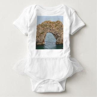 Durdle Door Arch, Dorset, England 2 Baby Bodysuit