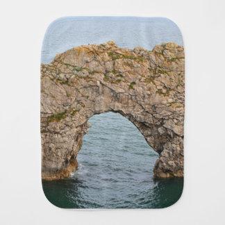 Durdle Door Arch, Dorset, England 2 Burp Cloth