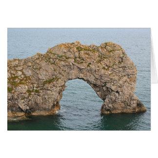 Durdle Door Arch, Dorset, England 2 Card