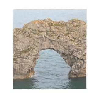 Durdle Door Arch, Dorset, England 2 Notepad