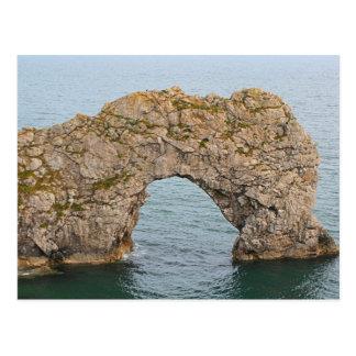 Durdle Door Arch, Dorset, England 2 Postcard