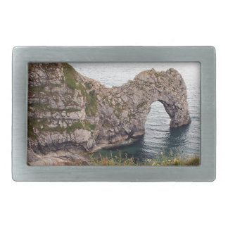 Durdle Door Arch, Dorset, England Belt Buckles