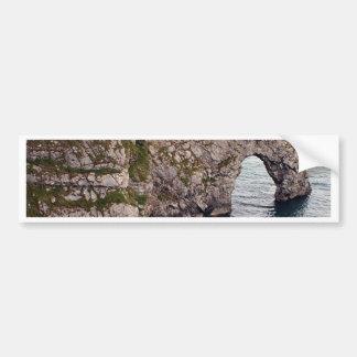 Durdle Door Arch, Dorset, England Bumper Sticker