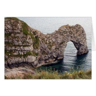 Durdle Door Arch, Dorset, England Card