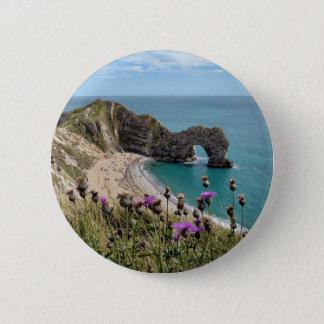 Durdle Door Dorset 2 Inch Round Button