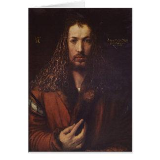 Dürer Portrait Card