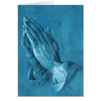 Durer Praying Hands Greeting Card