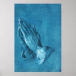 Durer Praying Hands Poster