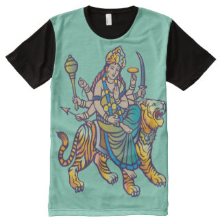 """Durga"" All-Over-Print T-Shirt"