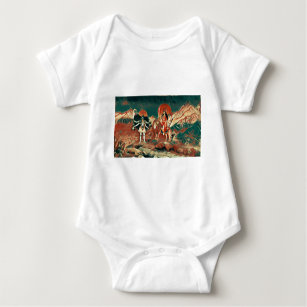 Durga and Kali Baby Bodysuit