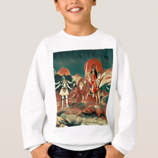 Durga and Kali Sweatshirt