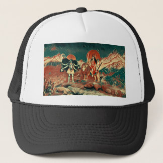 Durga and Kali Trucker Hat