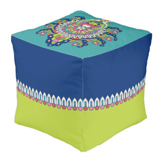 Durga Cubed Pouf II