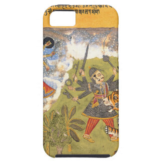 Durga fights the Daitya Raja iPhone 5 Covers