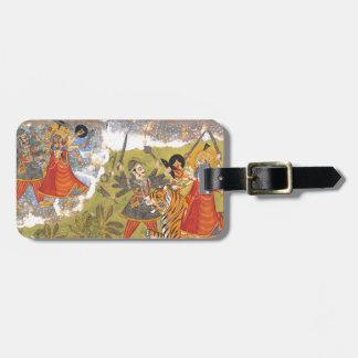 Durga fights the Daitya Raja Luggage Tag