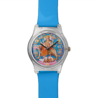 Durga Hindu Goddess Wrist Watches