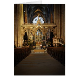 Durham Cathedral Alter Card