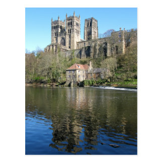 Durham Cathedral & Mill Postcard