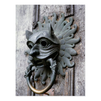 Durham Cathedral Sanctuary Knocker Postcard
