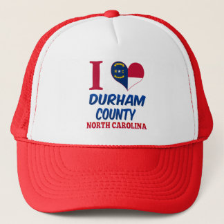 Durham County, North Carolina Trucker Hat