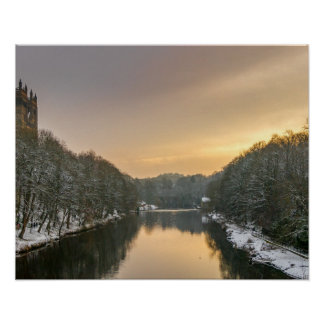 Durham in Winter Poster/Print Poster