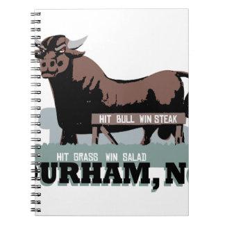 Durham NC Bull Notebook