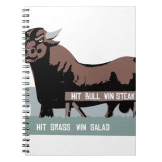 Durham NC Bull Spiral Notebooks