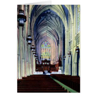 Durham North Carolina Chapel Card