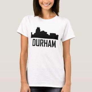Durham North Carolina City Skyline T-Shirt